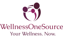 Image of client Wellness One Source logo sized 220X133.