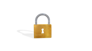 Image of a padlock with a key hole. Size 1920 X 1080