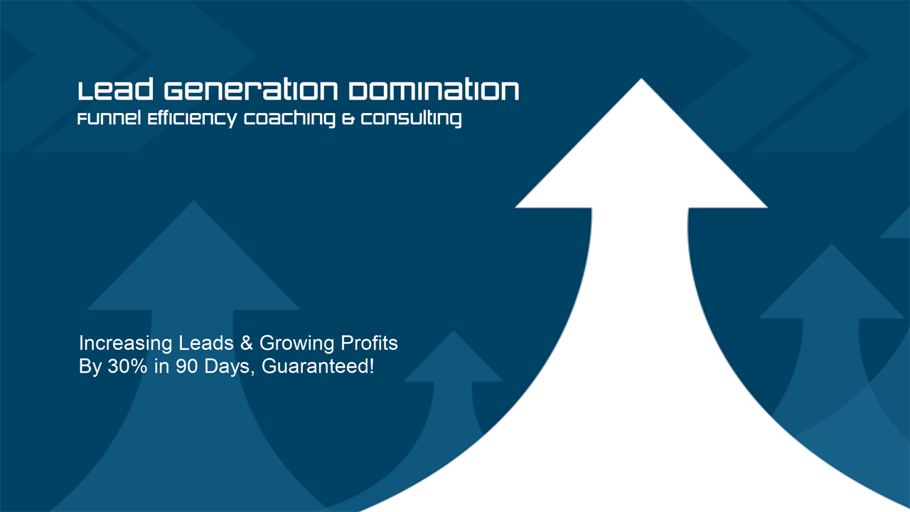 Lead Generation Domination Funnel Efficiency Coaching and Consulting Logo