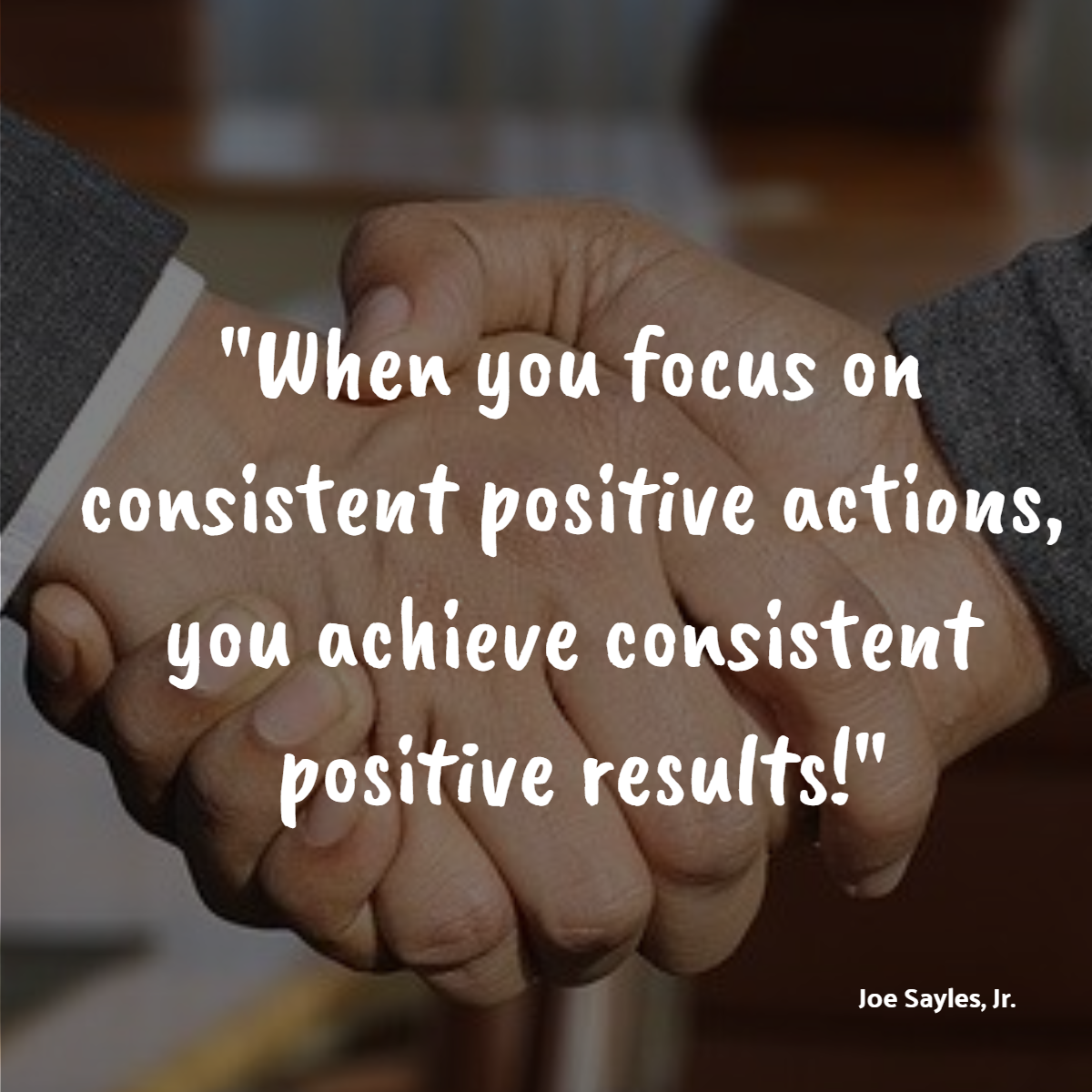Viral Post - Focus on Consistent Actions